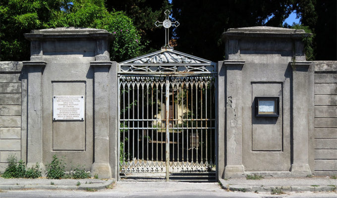 Scientists rush to save Greek cemetery and church in Italy 4