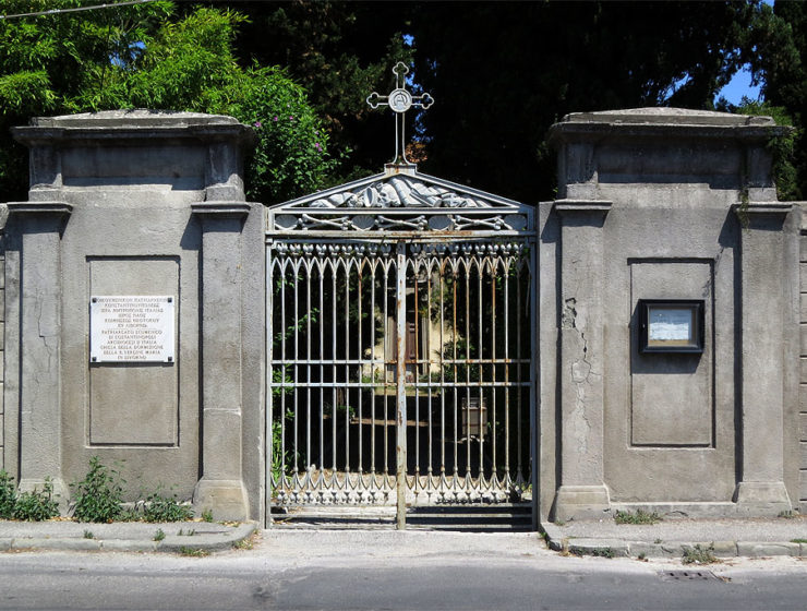 Scientists rush to save Greek cemetery and church in Italy 8