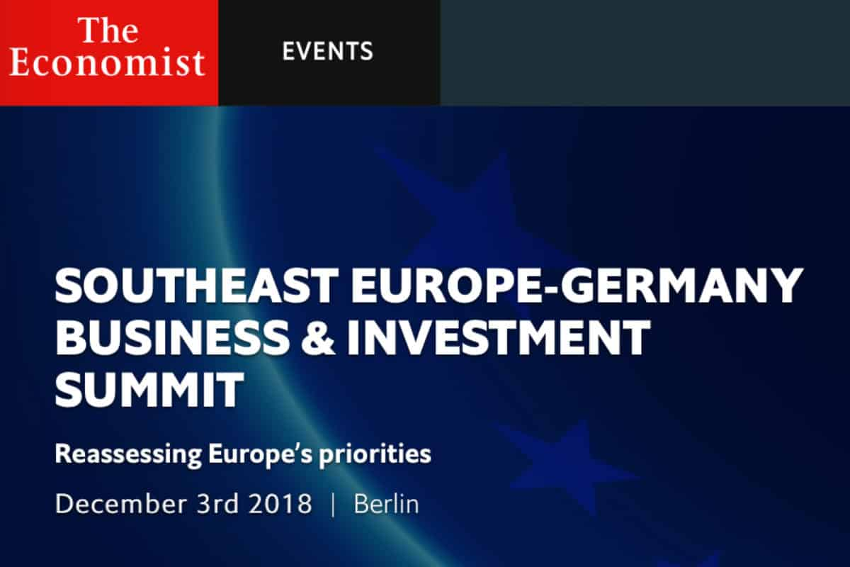 Energy Minister to attend Economist Summit in Berlin 2