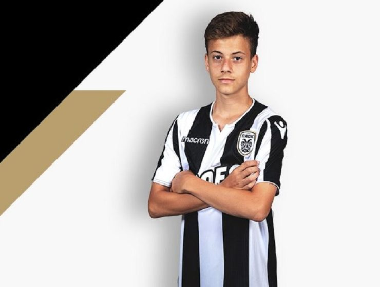 Barcelona eyeing out Greece's 15-year-old Giannis Konstantelias 14