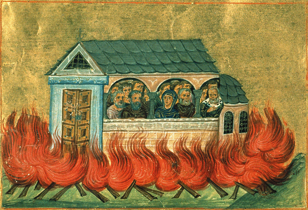December 28: The Holy 20,000 Martyrs of Nicomedia 2