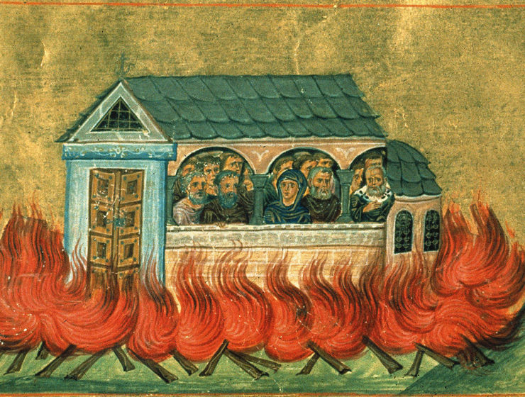 December 28: The Holy 20,000 Martyrs of Nicomedia 39