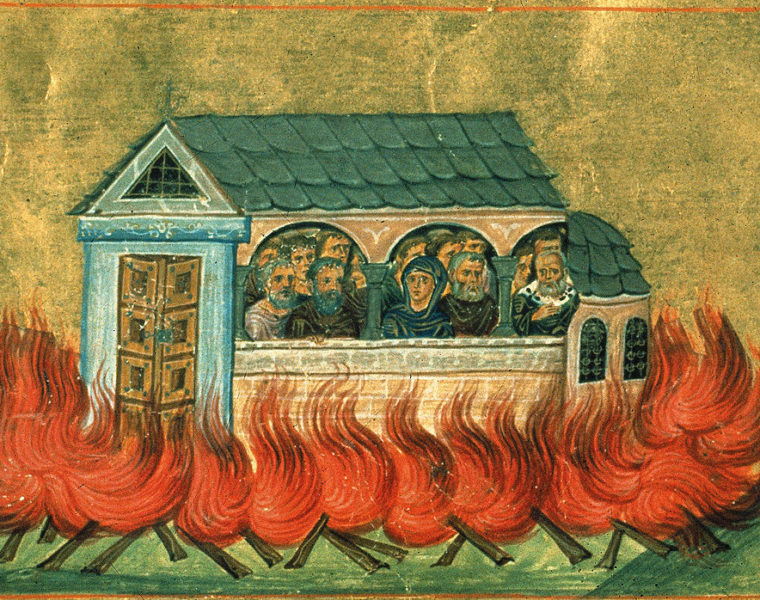 December 28: The Holy 20,000 Martyrs of Nicomedia 44