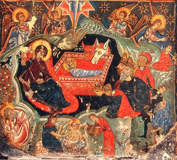 The Forefeast of the Nativity of our Lord.