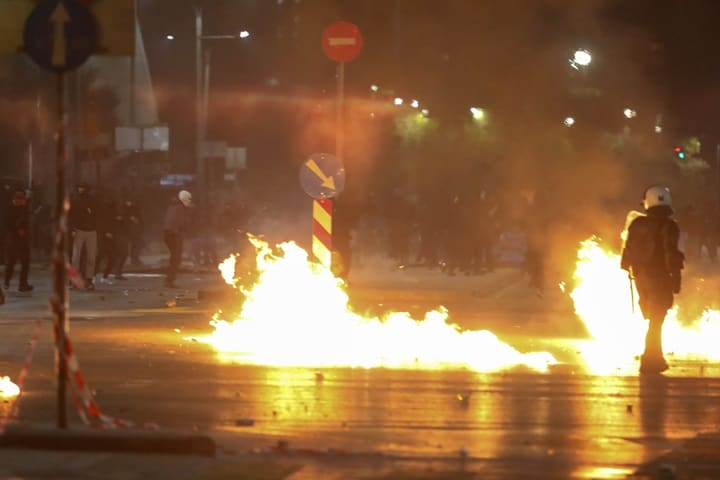 Riots break out on 10 year anniversary of Alexandros Grigoropoulos' murder 2