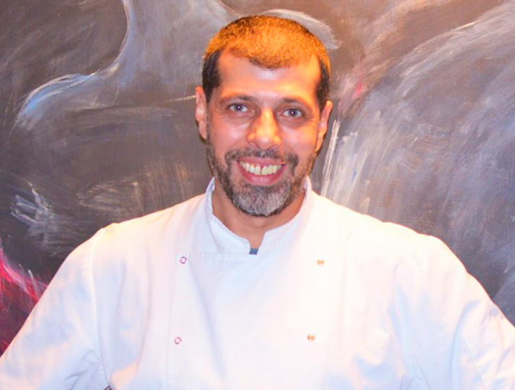 Greece's leading Vegan chef Nikos Gaitanos 2