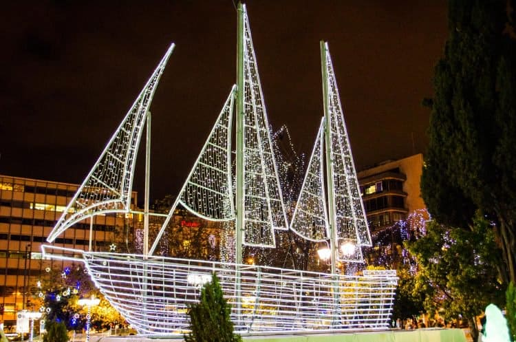 Traditional symbol behind Christmas boats in Greece 5