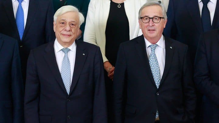 EU Commission President receives Greek President 25