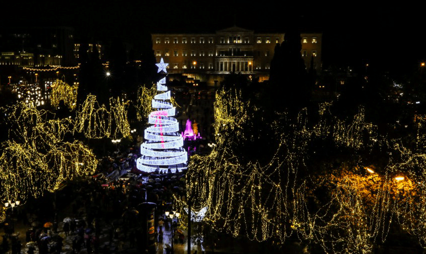 The Best Of Christmas In Athens For 2018 - Greek City Times