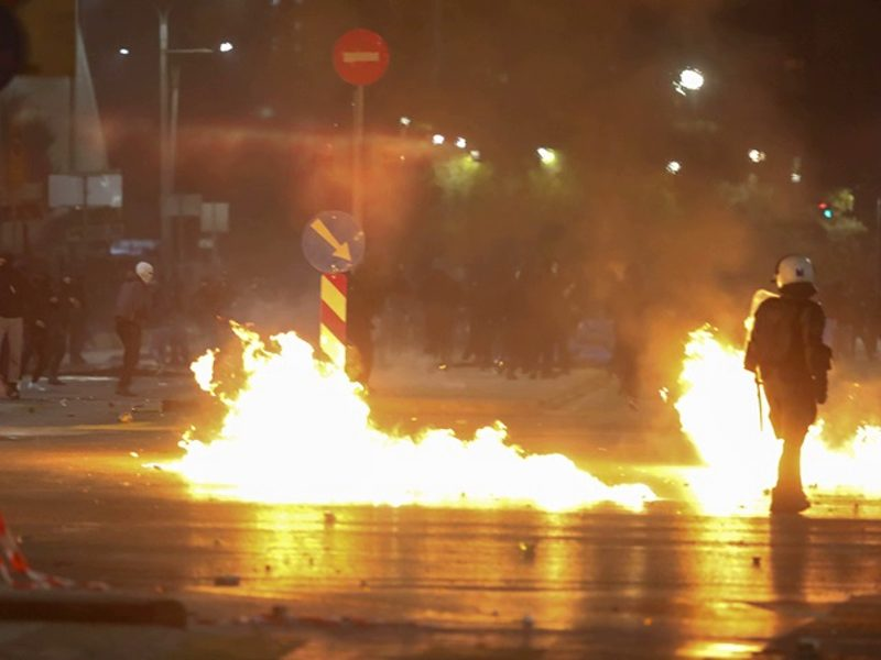 Riots break out on 10 year anniversary of Alexandros Grigoropoulos' murder 1