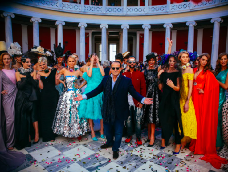 Vassilis Zoulias' Stunning S/S 19 Fashion show in the Greek Capital (PICS) 3