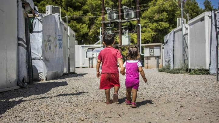 More than 1,000 unaccompanied minors sheltered in Greece 12