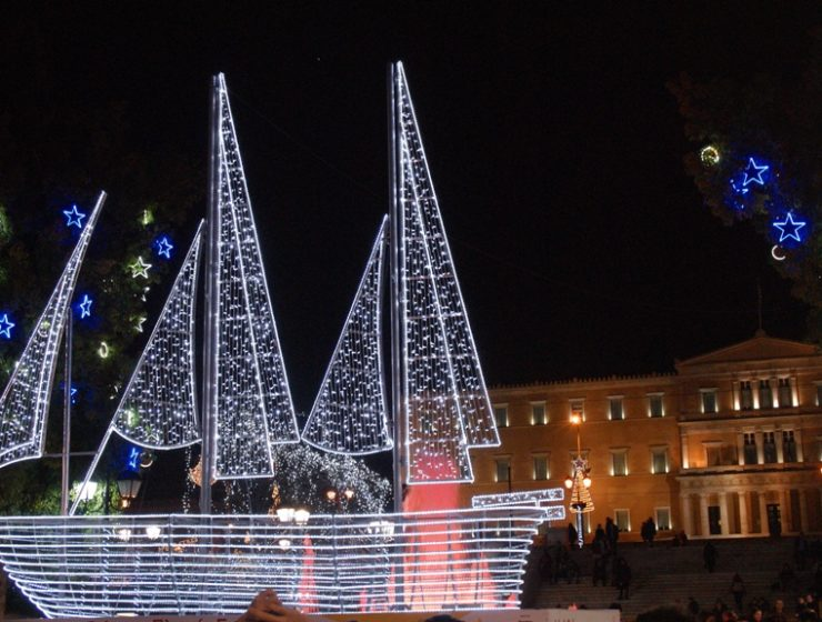 Traditional symbol behind Christmas boats in Greece 10