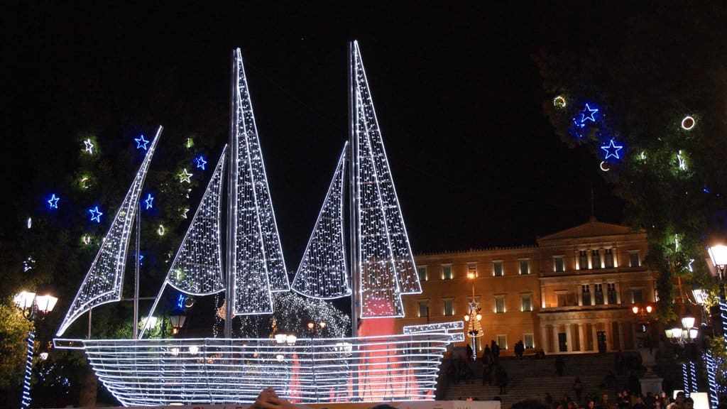 Traditional symbol behind Christmas boats in Greece 1