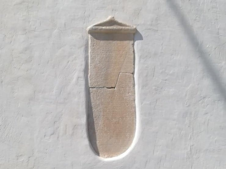 2,000 year old missing artefact shows up on island of Amorgos 40