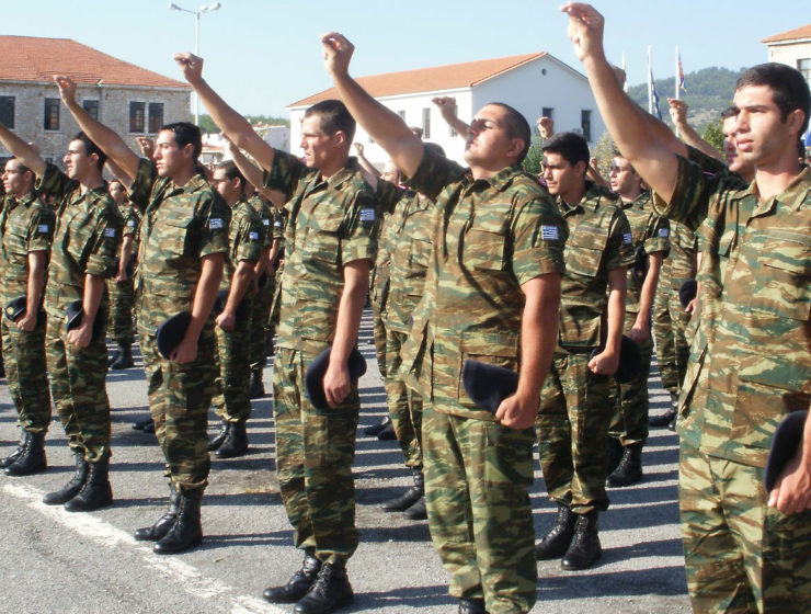 Greek Army the most trusted personnel in Greece 6