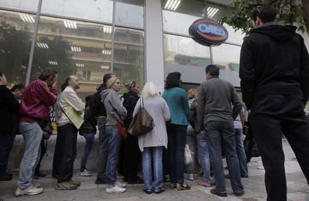 Greece still ranks number 1 in unemployment 36