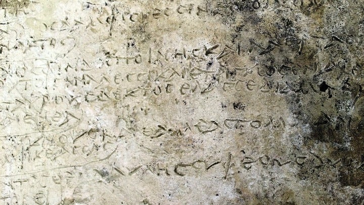 Ancient Greek tablet with Homeric verses listed in top 10 discoveries of 2018 1
