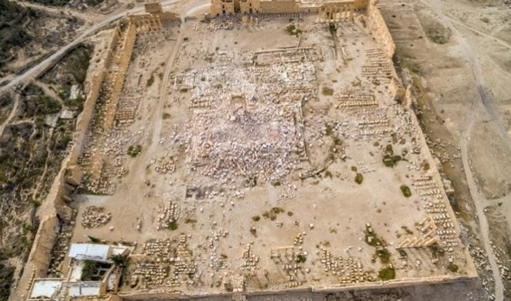 Syrian archaeologists plead for help during conference in Thessaloniki 15
