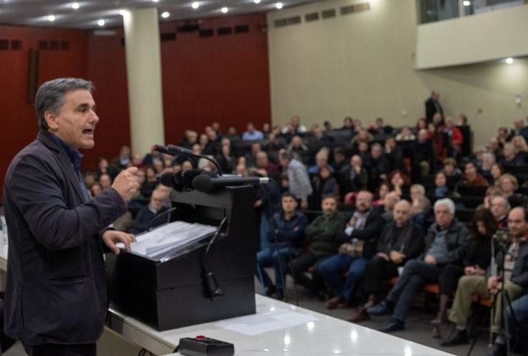 """""""We have an opportunity to change Greece"""": Tsakalotos 3"""