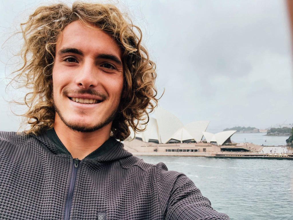 Seeded 1, Stefanos Tsitipas set to make his debut at Sydney International today 4