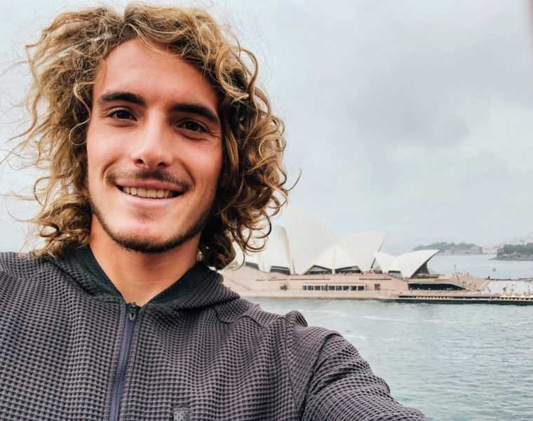 Seeded 1, Stefanos Tsitipas set to make his debut at Sydney International today 8