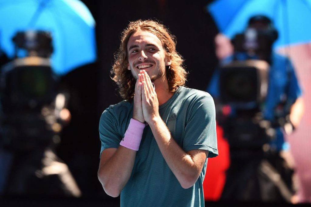 """""""I'm so proud of being Greek and representing my country"""" says Tsitsipas 3"""