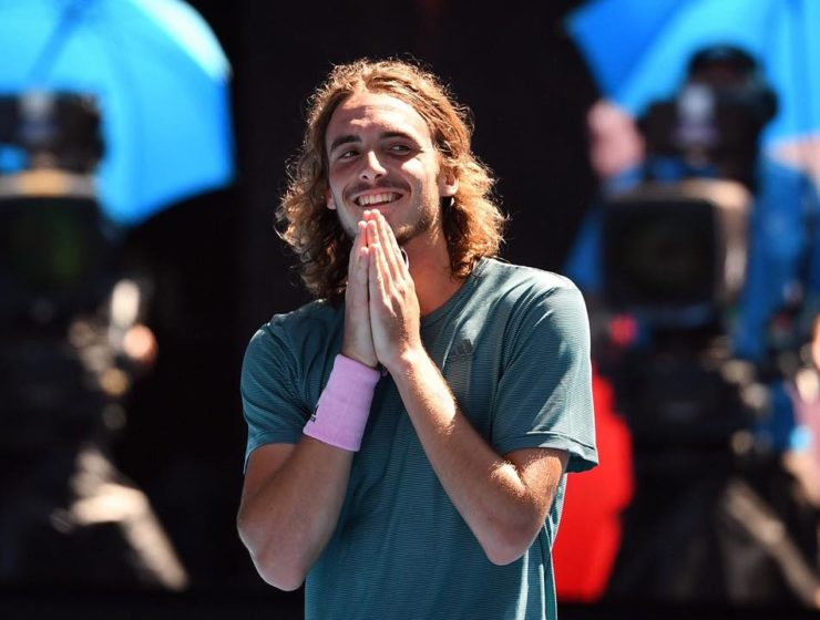 """I'm so proud of being Greek and representing my country"" says Tsitsipas 7"