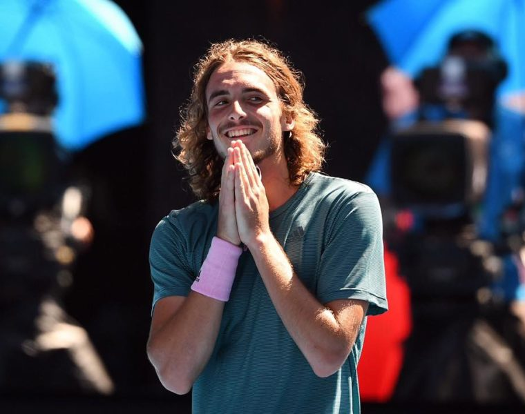 """I'm so proud of being Greek and representing my country"" says Tsitsipas 8"