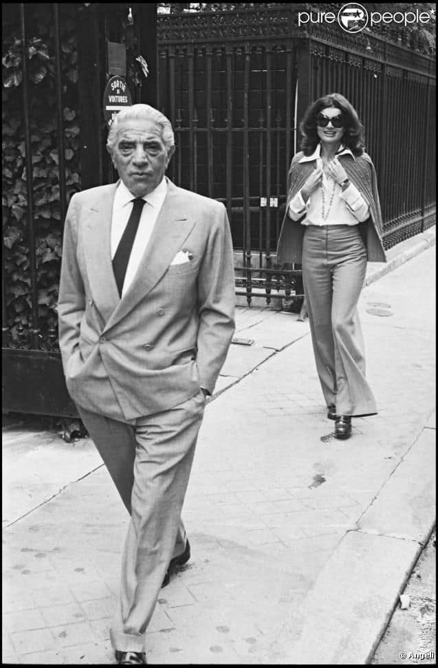 Greek tycoon Onassis was born on this day in 1906 7