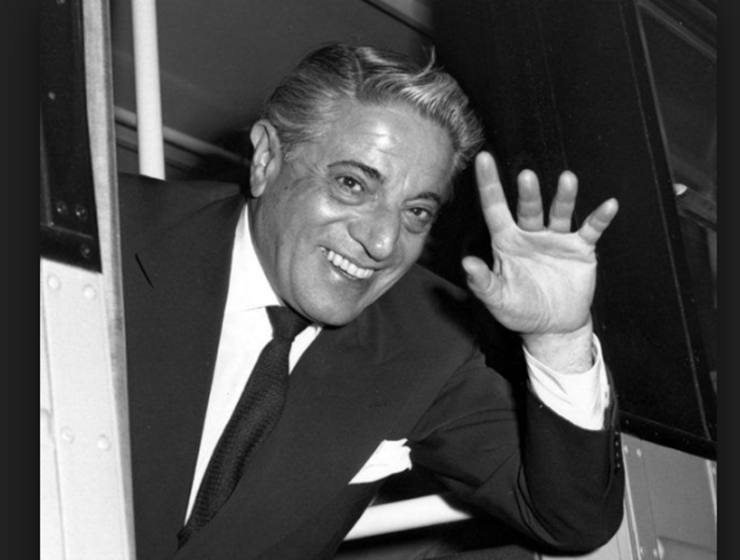 On this day in 1906 a Greek tycoon is born 42