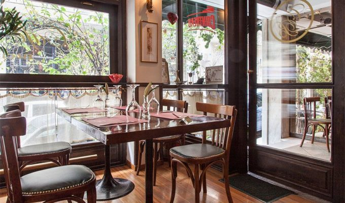 Kolonaki's Cozy & Sophisticated Cafe Bistro 6