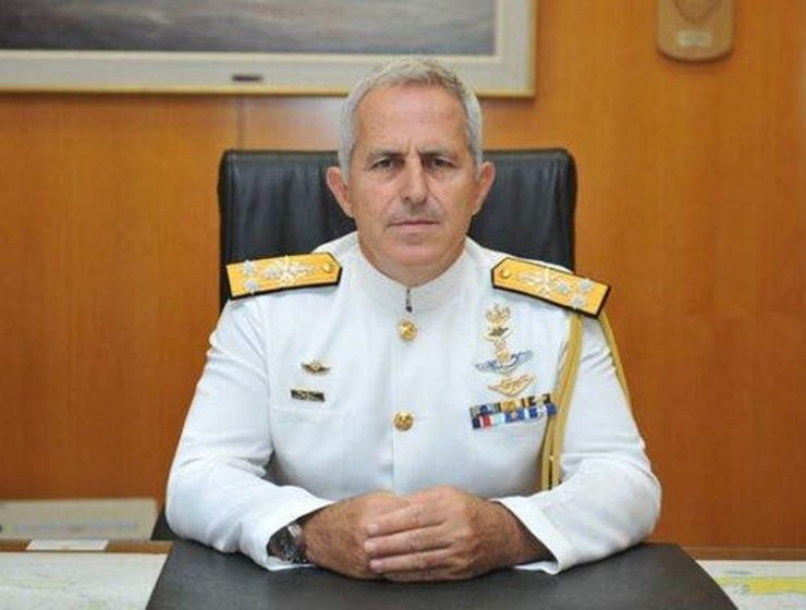 Chief Admiral Apostolakis appointed Greece's new Defence Minister 1