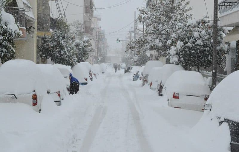 Snow set to hit Athens, Thessaloniki and Greek islands over next 24 hours 2