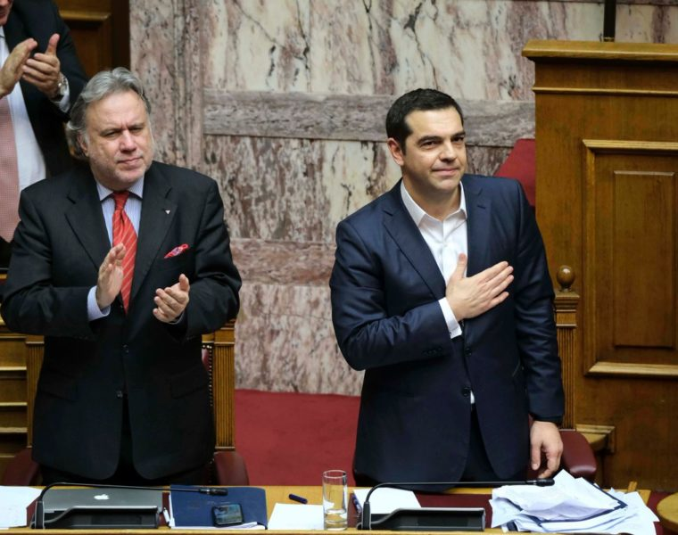 """Tsipras: """"Today is a historic day for Greece"""" after the Prespes Agreement is ratified by the Greek parliament 5"""