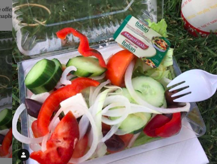 So-called 'Greek Salad' served with Italian dressing causes huge outrage 10