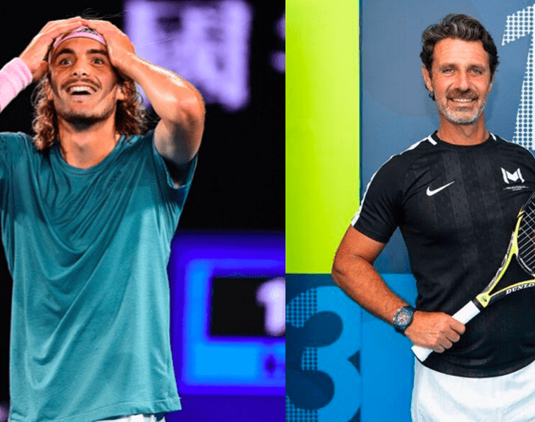 Serena Williams' tennis coach says how proud he is of Stefanos Tsitsipas 10