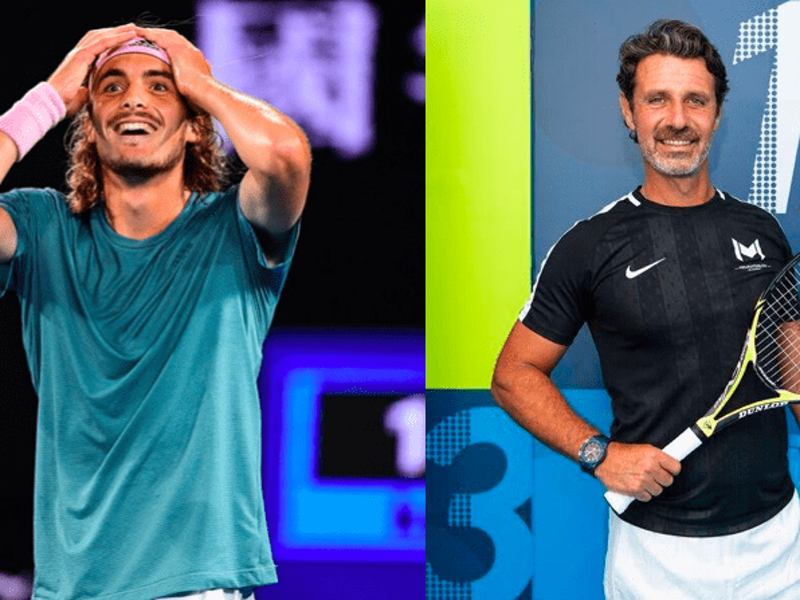 Serena Williams' tennis coach says how proud he is of Stefanos Tsitsipas 1