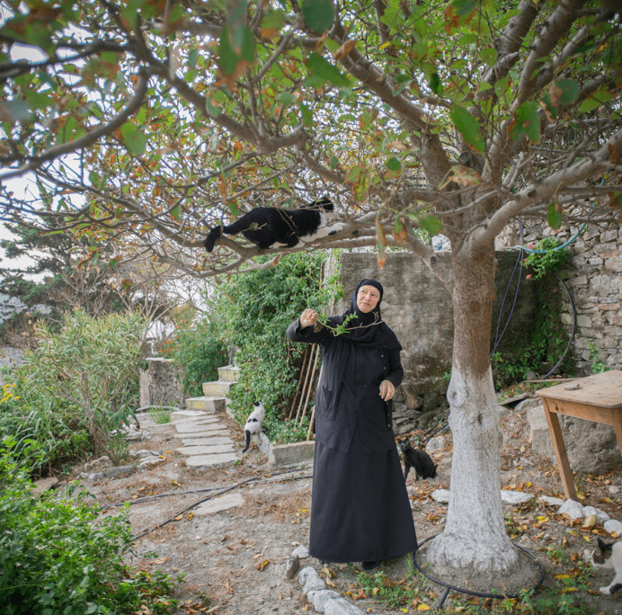 Spotlight on Sister Irini the only nun on Amorgos Island 7
