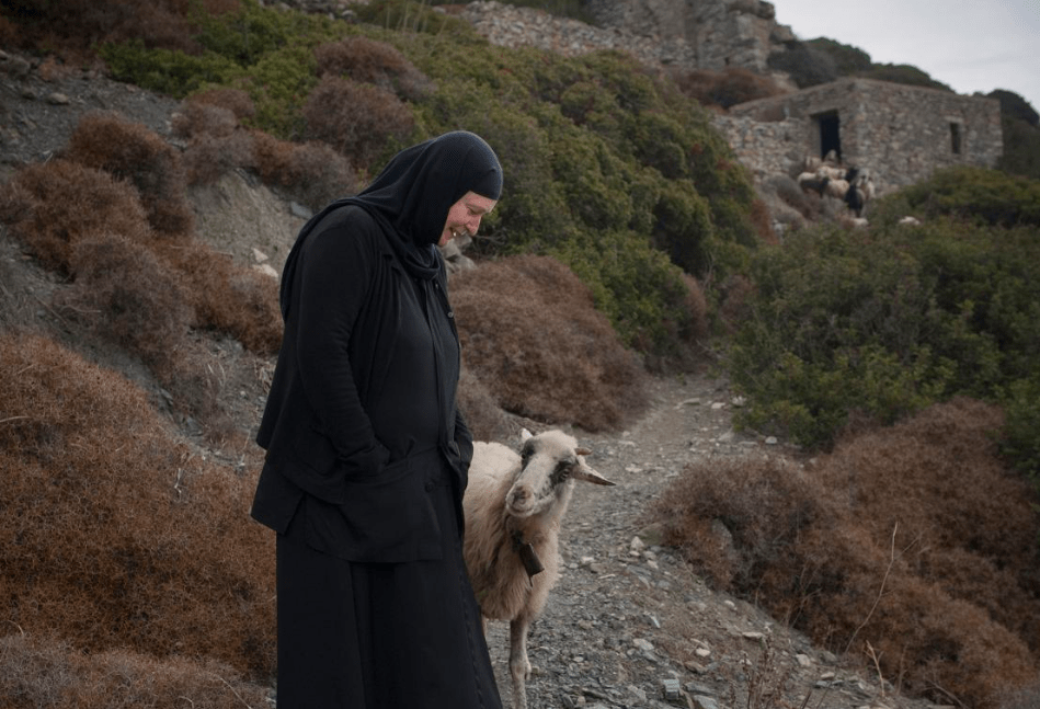 Spotlight on Sister Irini the only nun on Amorgos Island 9