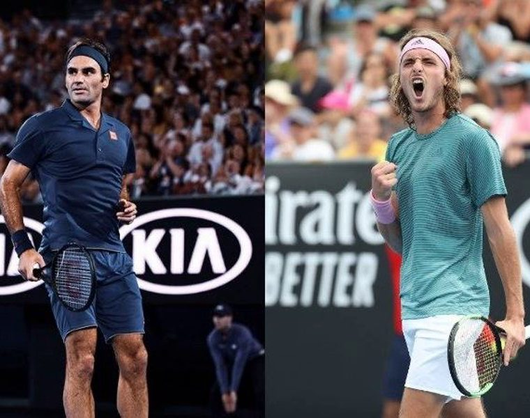 Greek tennis gun Tsitsipas set to face Federer in a few hours 14