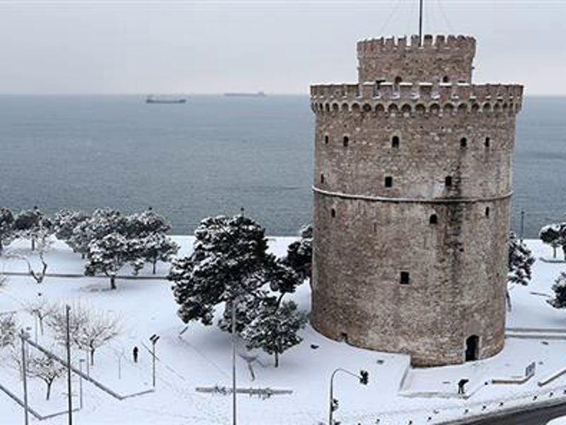 """""""Ypatia"""" set to bring more snow and heavy rainfall across Greece 1"""