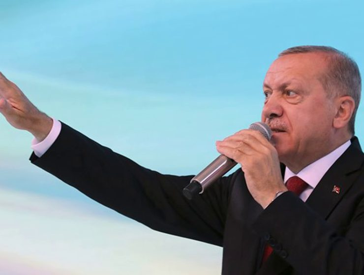 """I'll throw the Greeks into the sea"" says Erdogan during a public speech 10"