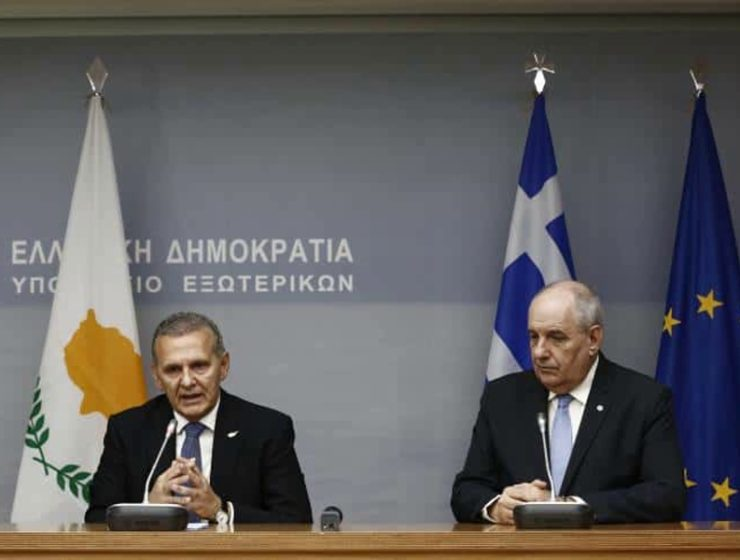 Greek Deputy FM in Cyprus and Egypt 2