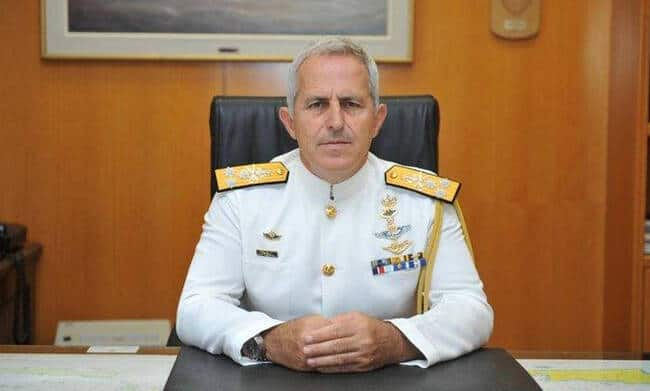 Chief Admiral Apostolakis appointed Greece's new Defence Minister 2