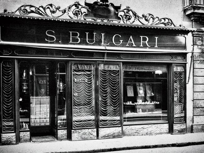 Luxury brand BVLGARI, founded by Greek silversmith Sotirios Voulgaris 1