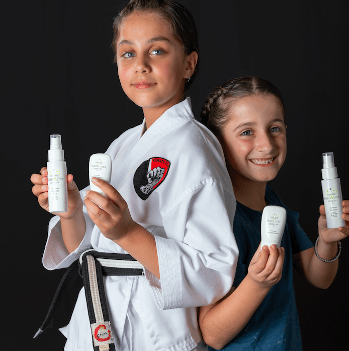 Greek Australian mums launch natural skin products for tweens 7