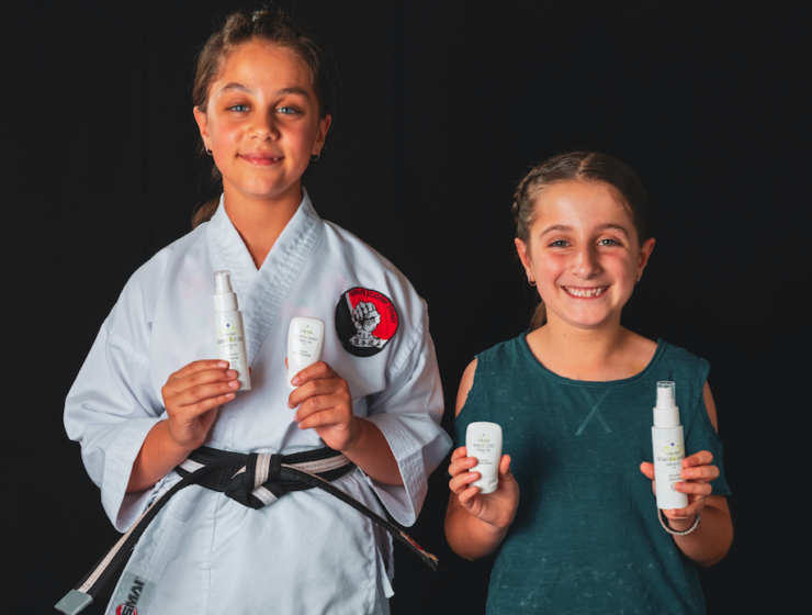 Greek Australian mums launch natural skin products for tweens 8