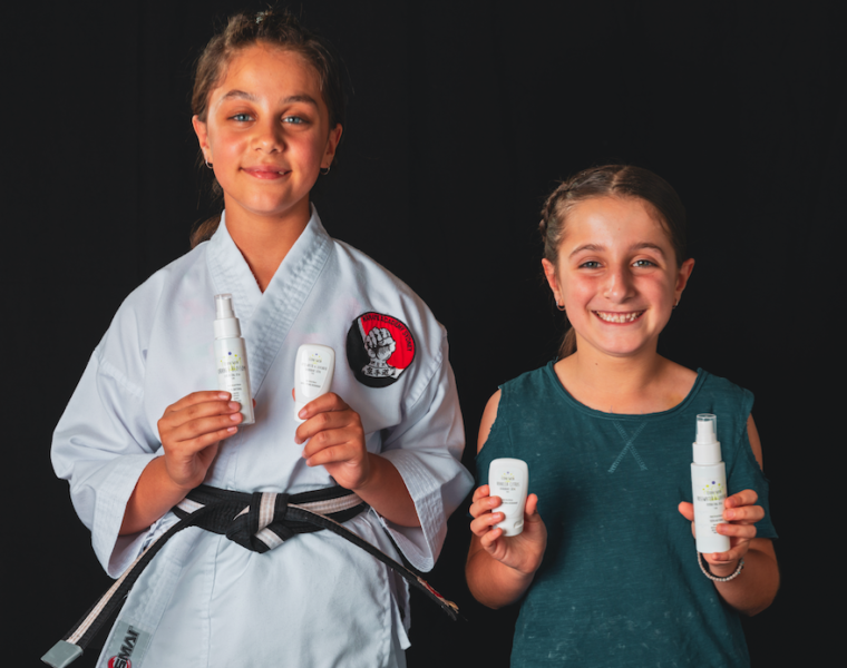 Greek Australian mums launch natural skin products for tweens 41