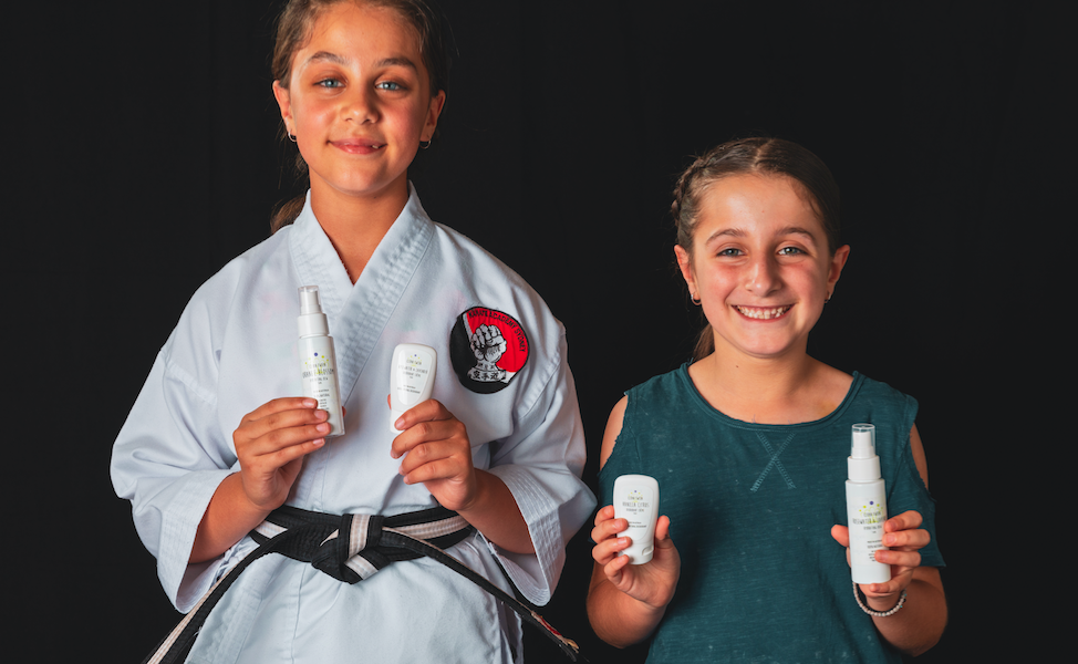 Greek Australian mums launch natural skin products for tweens 1